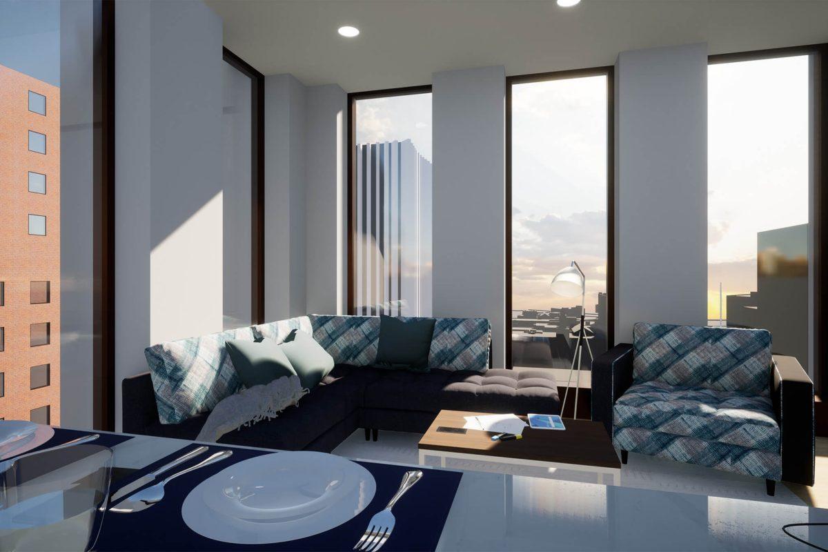 3 Bedroom - Living Room