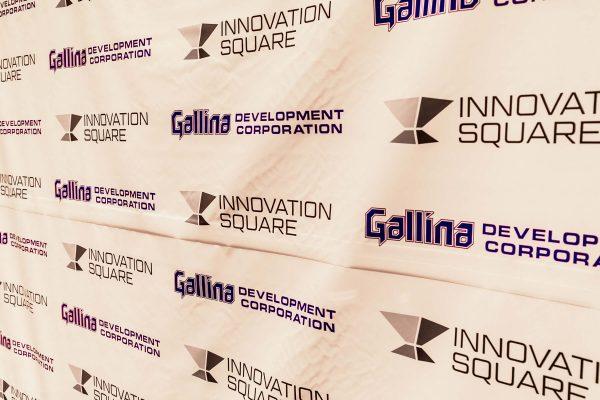 Gallina and Innovation Square logos